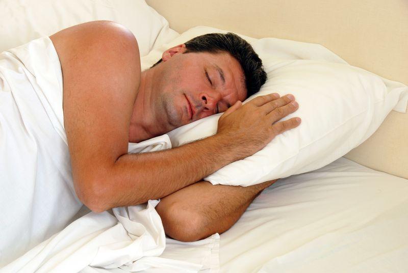 ManSleeping
